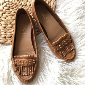 🌟3/25 ALDO Moccasin Loafers with Studs & Tassels